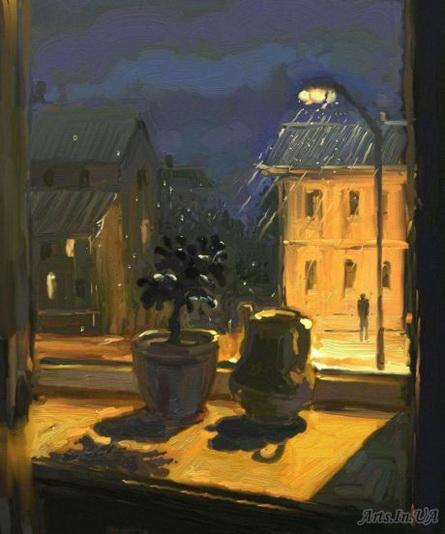 Юшина - Ночной дождь