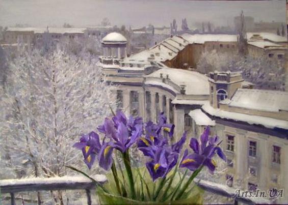 Юшина - Весна на отдельно взятом балконе