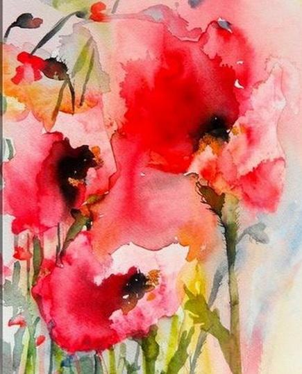 Karin Johannesson - Summer Poppies