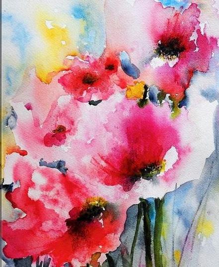 Karin Johannesson - Summer Poppies II