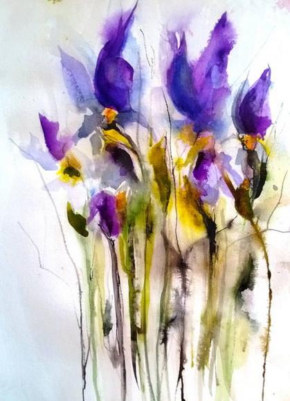 Karin Johannesson - Fallen Irises