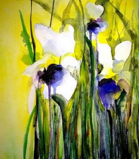 Karin Johannesson - Irises