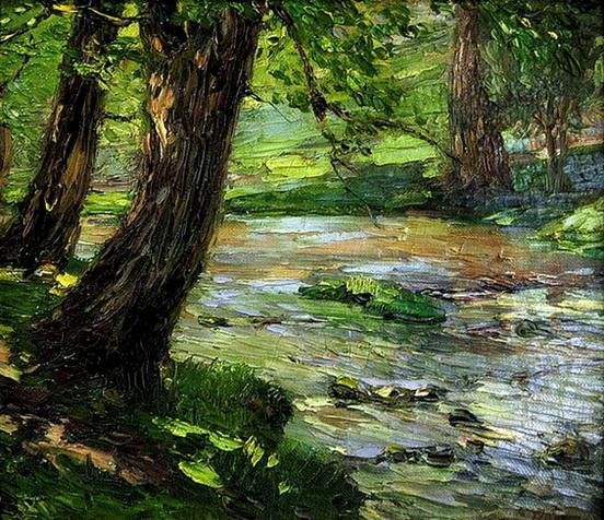 Catherine Wiley - Woodland Stream