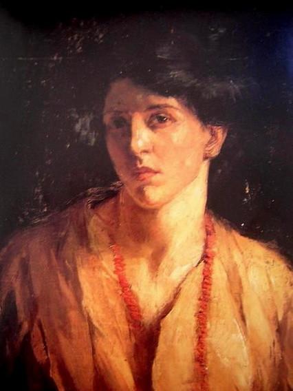 Catherine Wiley - Self-Portrait