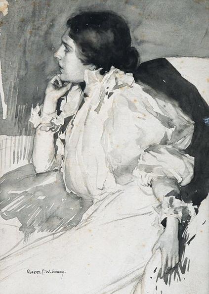 Rupert Bunny - Portrait of Jeanne Heloise Morel