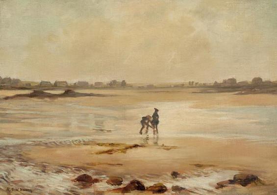 Rupert Bunny - Low Tide Etaples