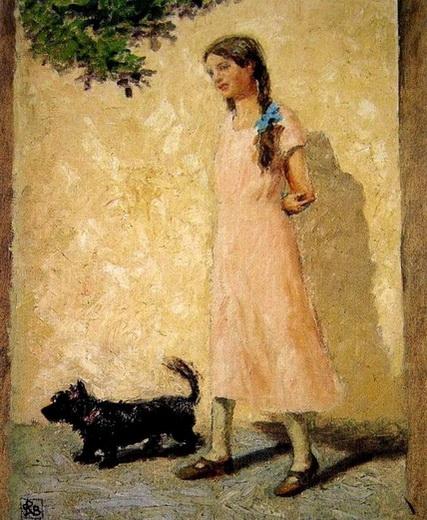 Rupert Bunny - The Pink Dress