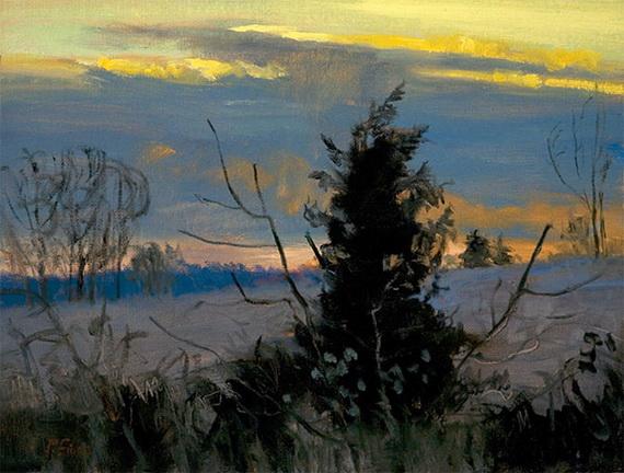 Peter Fiore - Pine in Winter