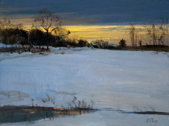 Peter Fiore - Winter Twilight Study