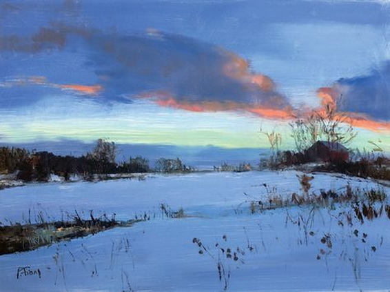 Peter Fiore - January at Twilight