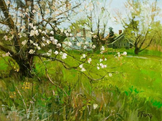 Peter Fiore - Apple Blossoms