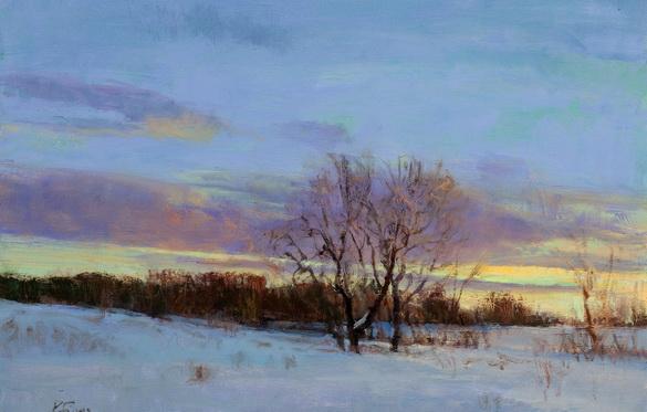 Peter Fiore -  February Twilight
