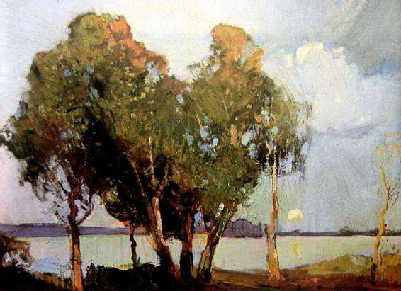 Sydney Long - Avoca Moonlight