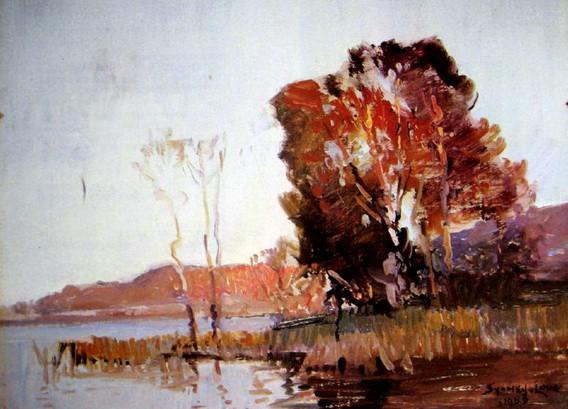 Sydney Long - Narrabeen Lakes