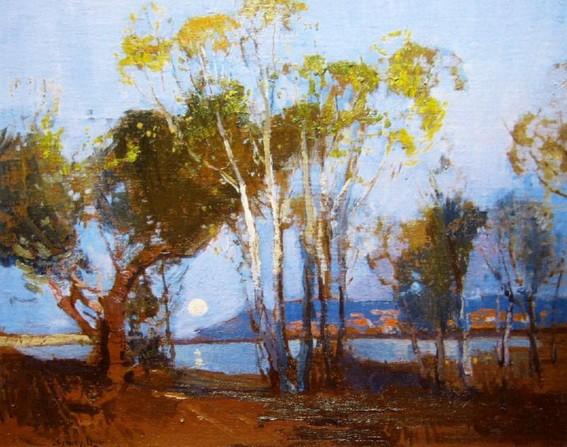 Sydney Long - Narrabeen Shoreline