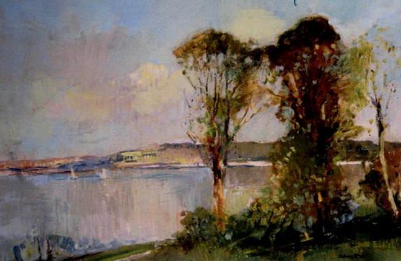 Sydney Long - Parramatta River, Drummoyne