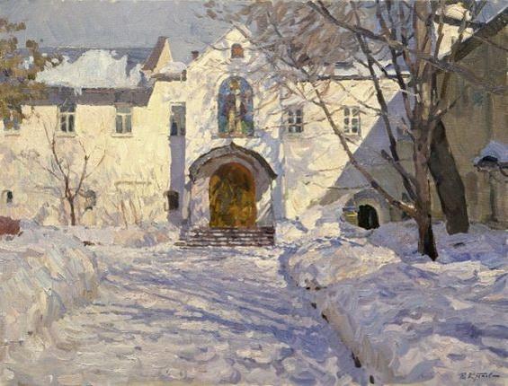 Yuriy Krotov - Monastery court