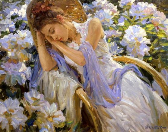 Yuriy Krotov - Daydream in the garden