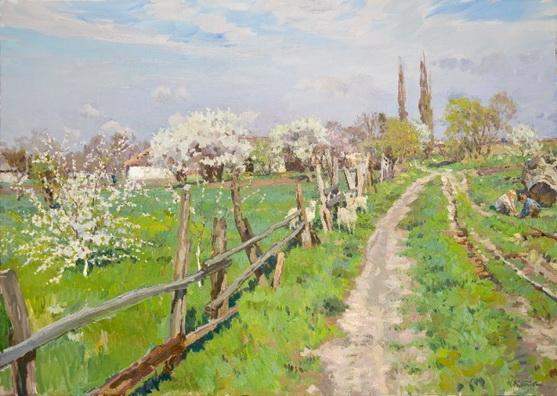 Yuriy Krotov - Spring in Grivenskoy
