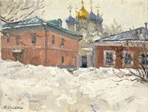 Yuriy Krotov - Snowy winter