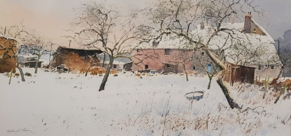 Richard Thorn - farm in winter