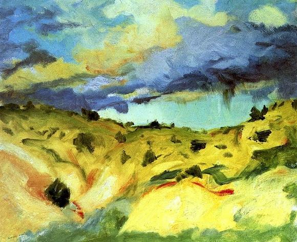 Robert Henri  Santa Fe Landscape