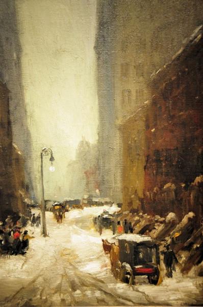 Robert Henri   Snow in New York, 1902.