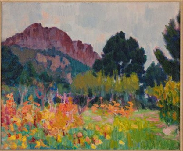 Roderic O`Connor - Orchard and Mountain