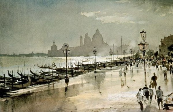 Rowland Hilder - Visions from Venice