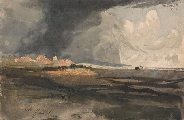 Samuel Palmer - a Storm Approaching