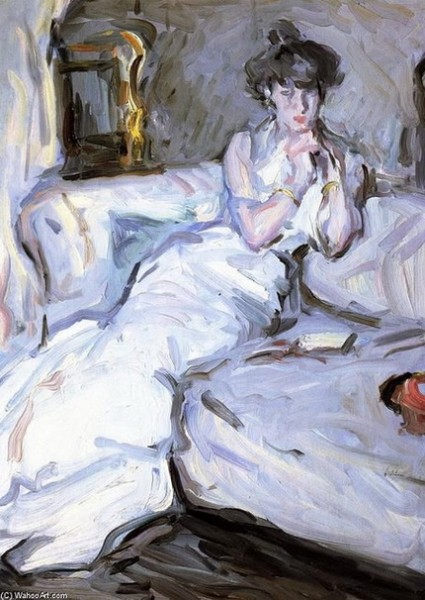 Samuel John Peploe  Girl in white, 1907