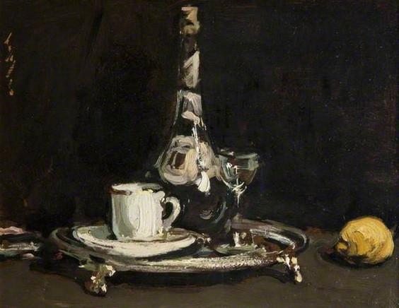 Samuel John Peploe Coffee and Liqueur