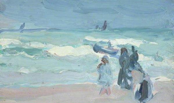 Samuel John Peploe On the French Coast