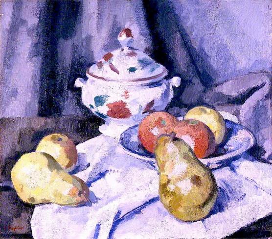 Samuel John Peploe Pears and Bowl