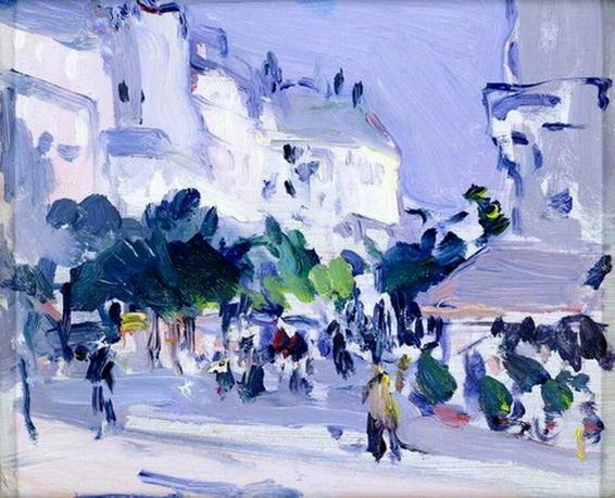 Samuel John Peploe Paris plage