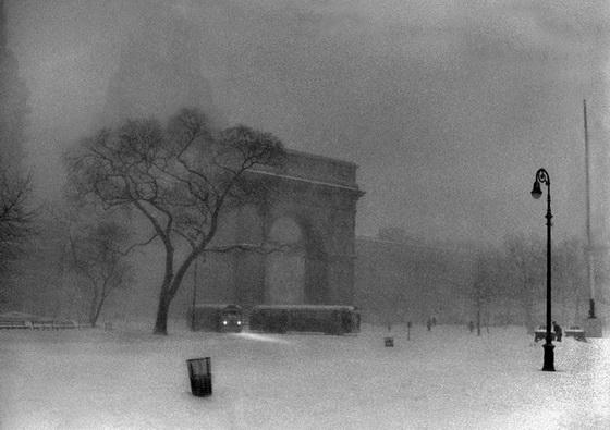 Ken Van Sickle - Washington Square Snow