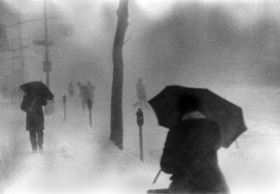 Ken Van Sickle - Second Avenue, Snow