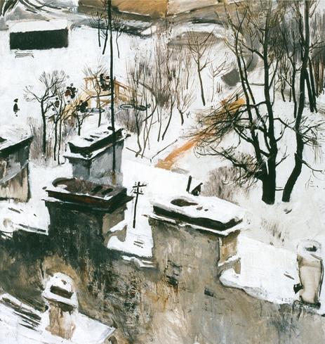 Моисеенко - Городской пейзаж