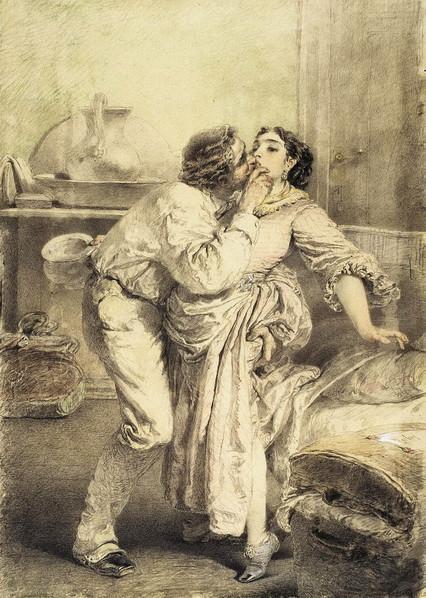 М. Зичи - Artist's Love