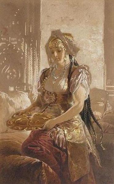 М. Зичи - An elegant lady