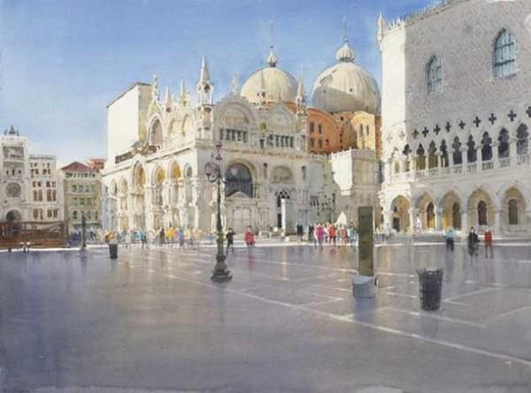 Stanislaw Zoladz - Venice Piazza San Marco
