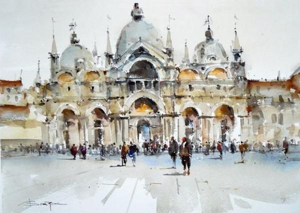 Stanislaw Zoladz - Venice Piazza San Marco 2