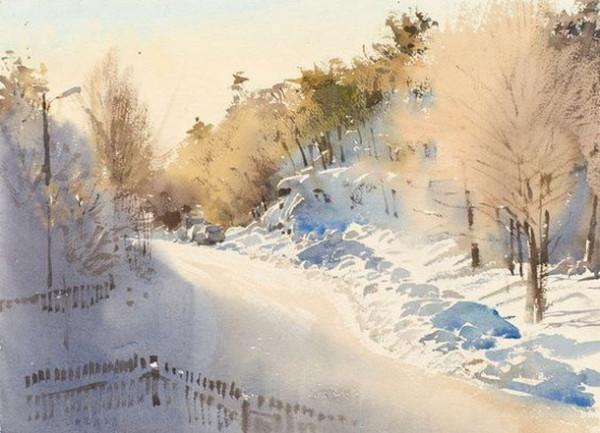 Stanislaw Zoladz - Vinter morgon