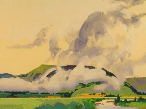 Stephen Quiller - Soft Day, Summer Sky