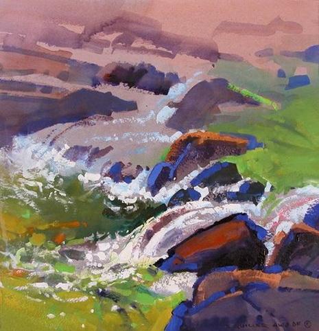 Stephen Quiller - Stream & Falls