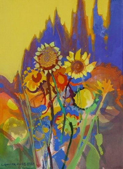 Stephen Quiller - Sunflowers