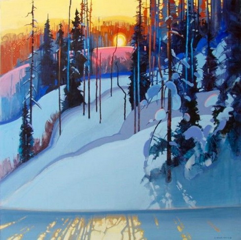 Stephen Quiller - Retreating Light
