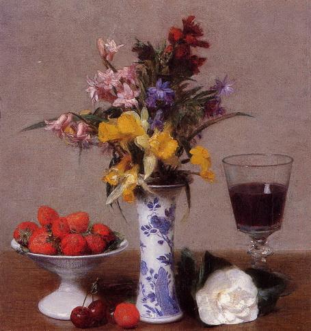 Henri Fantin-Latour - The Bethrothal Still Life