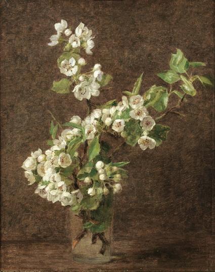 Henri Fantin-Latour - Apple Blossoms