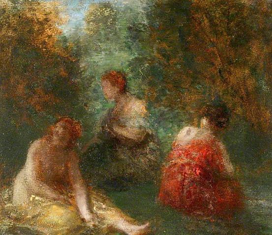 Henri Fantin-Latour - The Bathers